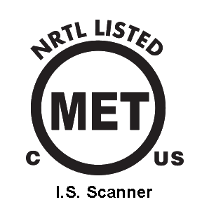 MET Laboratories, Inc. NRTL Certification Mark for I.S. Probe